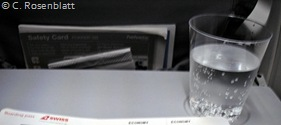 Flugzeuggetränk